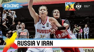 Russia v Iran   Women