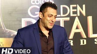 Salman Khan At Golden Petal Awards 2016 | Colors