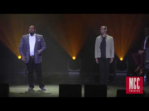 "James Monroe Iglehart performs ""Satisfied"" with Javier Muñoz and Lexi Lawson from HAMILTON"
