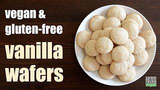 vanilla wafers (vegan & gluten-free) Something Vegan