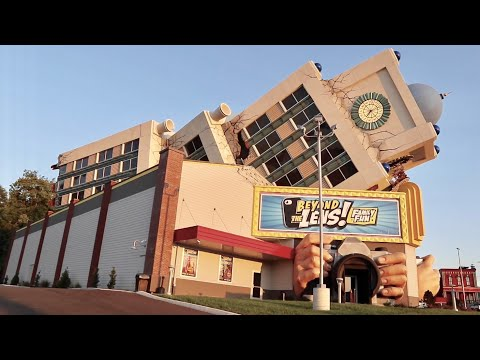 Beyond The Lens NEW Pigeon Forge Attraction Swimming In Pool of Alien Eggs & Meeting Bigfoot