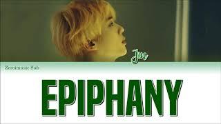 BTS (방탄소년단) Jin (진) - 'Intro EPIPHANY' - 가사 (Sub español+Eng Sub+Roma+Han+Lyrics+Colorcodedlyrics)