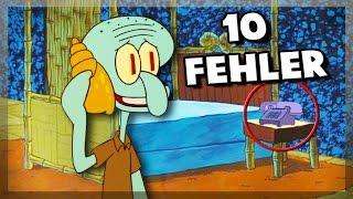 10 Fehler in Spongebob Schwammkopf!
