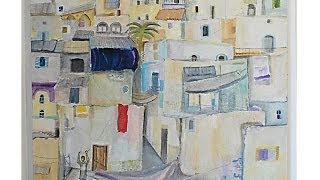 Painting By Abed Abdi With Piano Music Composed By Eitan Altman