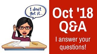 October Q&A - Amanda Answers Your Questions About Audit