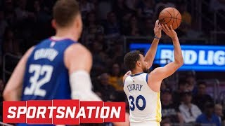 Should the Clippers be embarrassed by Steph Curry's performance? | SportsNation | NBA