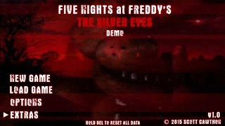 Five Nights at Freddy's (FNAF) The Silver Eyes Gameplay Demo Teaser Trailer Fan Made