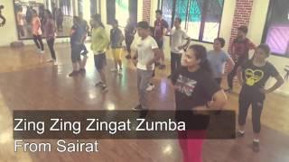 Zing zing zingat Sairat official full song / zumba / SDA