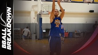 The Secrets To Steph Curry's Shooting Mechanics