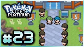 Let's Play Pokemon: Light Platinum - Part 23 - Team Steam Secret Base