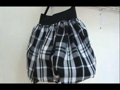 Como Hacer Una Falda Globo En 20 Minutos How To Make A Bubble Skirt In 20 Minutes