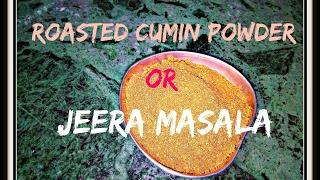 Multi Purpose Roasted cumin powder / Jeera Masala recipe / Raita Masala
