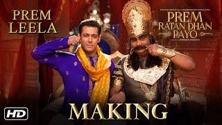 Making Of Prem Leela Song | Prem Ratan Dhan Payo | Salman Khan, Sooraj Barjatya, Himesh Reshammiya