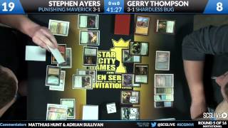 SCGINVI - Rd 5 - Gerry Thompson vs Stephen Ayers