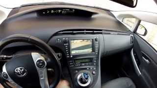 Interior Tour 2010 Toyota Prius 5 Advanced Technology Package