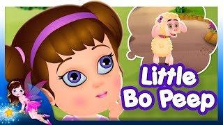 Little Bo Peep Has Lost Her Sheep | English Nursery Rhymes | by TinyDreams