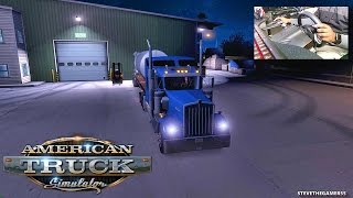 AMERICAN TRUCK SIMULATOR EP 6 - NEW PROFILE - LOS ANGELES TO YUMA (ATS MODS)