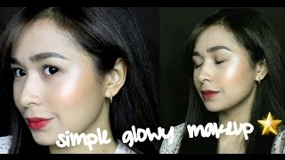 Simple Everyday Makeup Using Mostly Local DRUGSTORE And AFFORDABLE Products!!