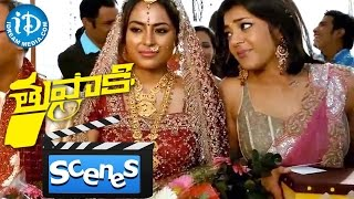 Thuppakki Movie Scenes - Kajal Aggarwal Attends Her Friend's Wedding || Murugadoss