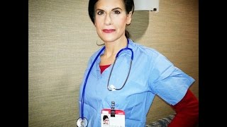 Hodpital Industrial Video w/ Lynn Julian, Boston Actress, as a Doctor / Surgeon / Nurse