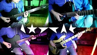 When I Met You  David Bowie Instrumental Cover  Guitar Bass Drums