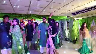 Cheez Badi Hai Mast Holud Dance Performance     @A.H.Mredul Choreography    SKYDANCE Company