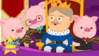 Old King Cole - Classic Nursery Rhyme with lyrics - Old Folk Song - English Song For Kids