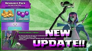 Clash Of Clans - NEW UPDATE!!! SKELETON w/ 1 GEM BOOST (Halloween is Coming)