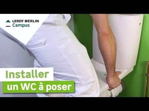 Wc suspendu perline batipack brosse electrostatique for Leroy merlin perline
