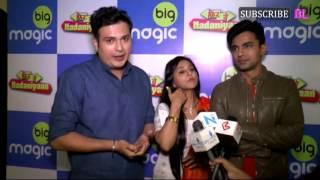 Gunn Kansara, Jay Pathak and Gaurav Sharma at the launch of new serial Phir Yeh Nadaniyaan