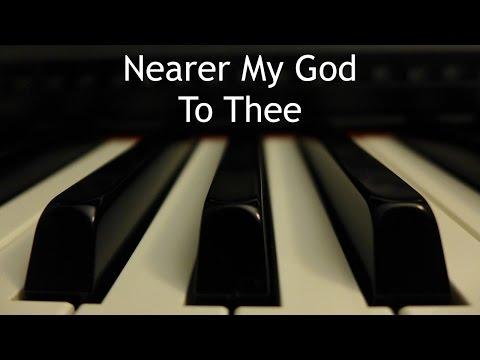 Xxx Mp4 Nearer My God To Thee Piano Instrumental Hymn With Lyrics 3gp Sex