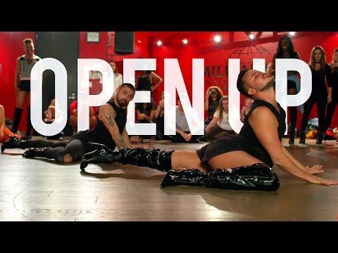 "YANIS MARSHALL HEELS CHOREOGRAPHY ""OPEN UP"" GALLANT. MILLENNIUM DANCE COMPLEX LA"