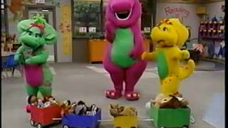 Opening & Closing to Barney's All Aboard for Sharing 1996 VHS [True HQ]