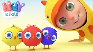 Chicks Song | Animal Songs For Kids - HeyKids