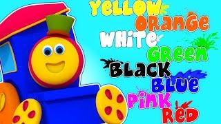 Learn Colors | Learning Street With Bob The Train | Cartoon Videos For Toddlers by Kids Tv