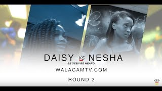 NEW Hip Roll BATTLE.. DAISY VS NESHA ROUND 2..WALACAMTV ITS ON!!!