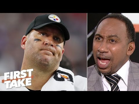 Big Ben was straight garbage vs. the Patriots Stephen A. is disgusted by the Steelers First Take