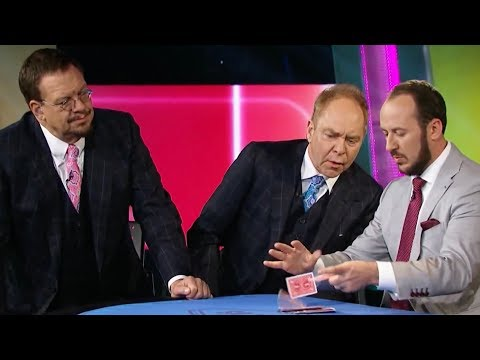 Penn & Teller Fool Us Kostya Kimlat s IMPOSSIBLE Card Trick Season 5