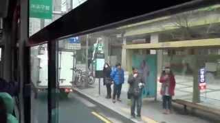 Ride in a local bus - Seoul, South Korea