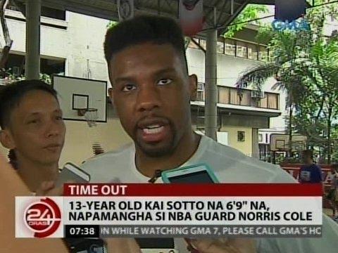Xxx Mp4 24 Oras 13 Year Old Kai Sotto Na 6 9 Na Napamangha Si Norris Cole 3gp Sex