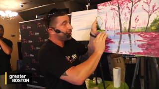 WGBH Drinks Creatively at Paint Nite