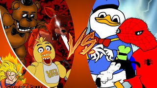 FREDDY FAZBEAR CREW vs DOLAN GANG! Cartoon Fight Club Episode 77 REACTION!!!