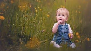 Photoshop Outdoor Baby Portrait : Photoshop Tutorial