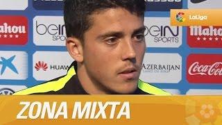 Zona Mixta tras el Atlético de Madrid (1-0) Málaga CF