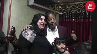 حصريا شاهد عيد ميلاد الفنان عبد الباسط حمودة وسط عائلته