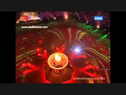 Hani Yaylam Türküsü Universiade 2011 Erzurum Açılış Gösterileri