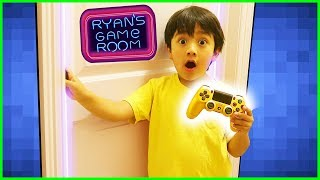 Ryan's Secret Gaming Room Tour + New Gaming Channel VTubers with Ryan and Combo Panda