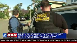 First Calif. City Votes to Opt Out of Sanctuary State Law