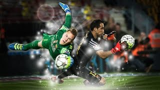 FC Barcelona top 10 best saves 2015/16