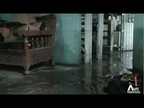 Lluvias dejan 600 familias afectadas en Vega de Alatorre Veracruz